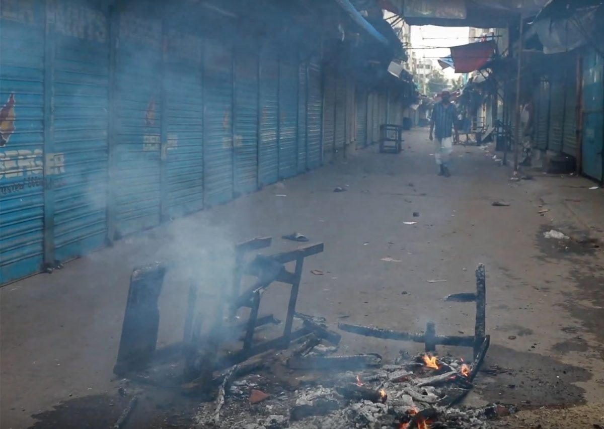 Geneva Camp Meltdown at Mohammadpur Dhaka